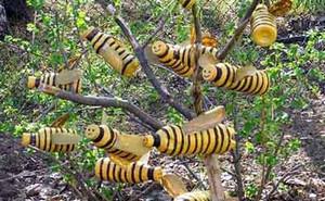 Пластмассовые пчелы