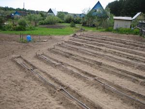 Подготовленный огород